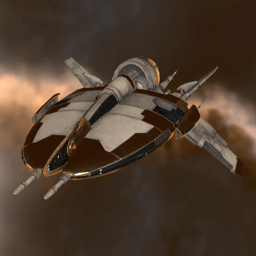 Amarr Media Shuttle in Rhea